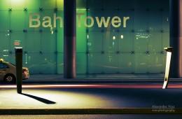 Berlin – BahnTower / Potsdamer Platz bei Nacht