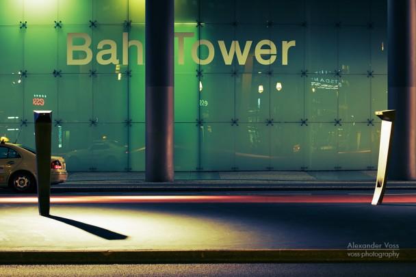 Berlin - BahnTower / Potsdamer Platz at night