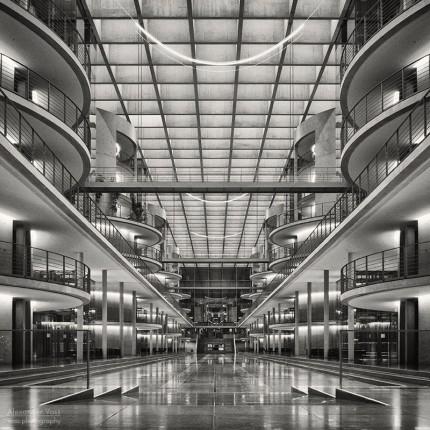 Analoge Fotografie: Berlin – Paul-Löbe-Haus