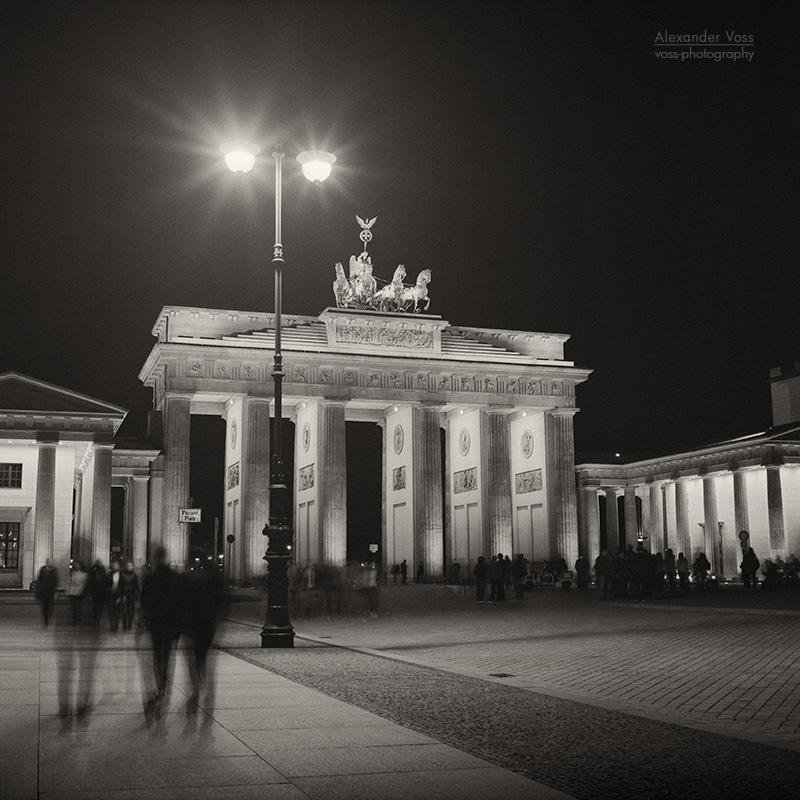 Analoge Fotografie: Berlin - Brandenburger Tor