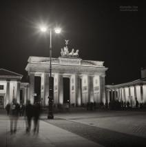 Analog Photography: Berlin – Brandenburg Gate
