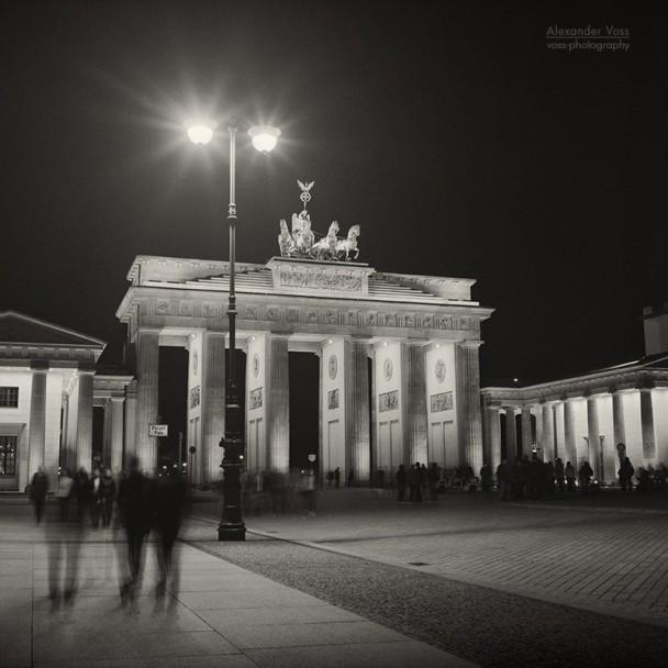 Analog Photography: Berlin - Brandenburg Gate