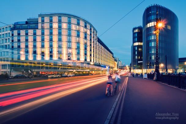 Berlin - Friedrichstrasse / Weidendammer Bridge
