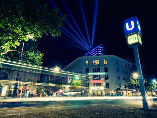 Berlin - Kurfürstendamm bei Nacht / Kudamm-Karree