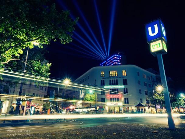 Berlin - Kurfürstendamm at Night / Kudamm-Karree