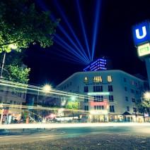 Berlin – Kurfürstendamm bei Nacht / Kudamm-Karree