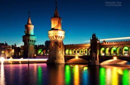 Berlin – Oberbaumbrücke / Festival of Lights