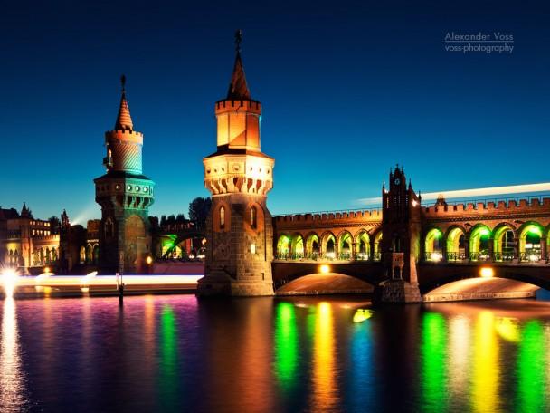 Berlin - Oberbaumbrücke / Festival of Lights