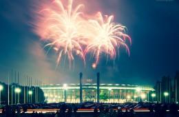 Berlin – Olympiastadion / Pyronale