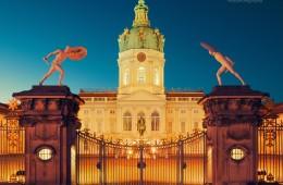 Berlin – Schloss Charlottenburg bei Nacht