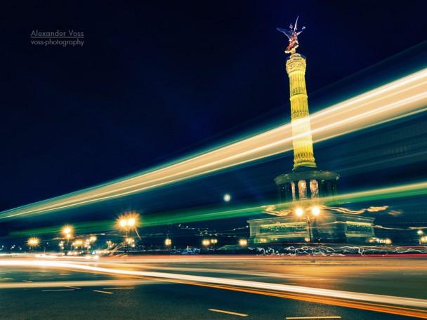 Berlin - Victory Column / Festival of Lights