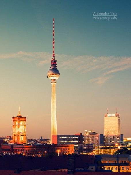 Berlin - Skyline / Fernsehturm