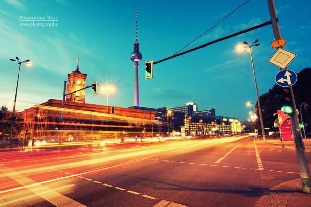 Langzeitbelichtung: Berlin