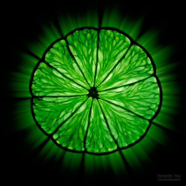 Creative Food Photography: Limette
