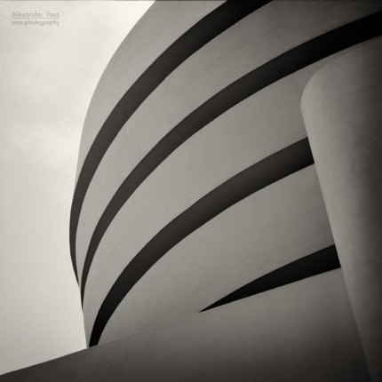 Analoge Fotografie: Guggenheim Museum New York, No.1