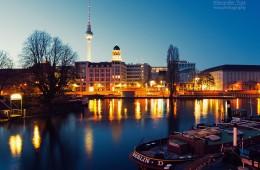 Berlin – Historischer Hafen / Mühlendammschleuse