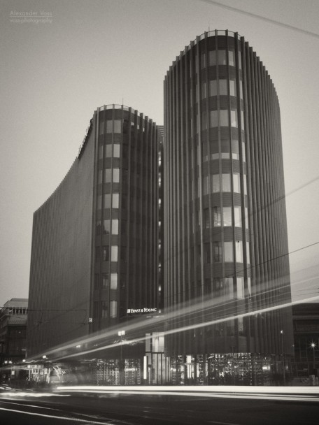 Analog Photography: Berlin - Ernst & Young, Friedrichstrasse