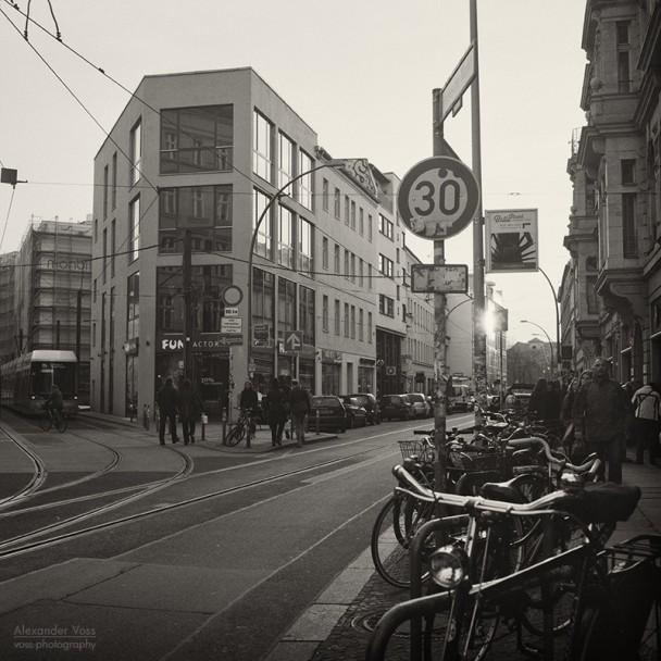Analoge Fotografie - Berlin, Hackescher Markt