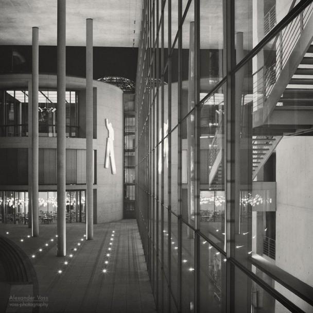 Analoge Fotografie: Berlin - Regierungsviertel
