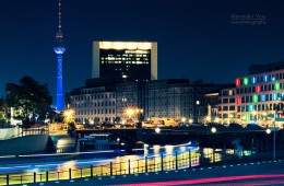Berlin – Television Tower at Night / Skyline