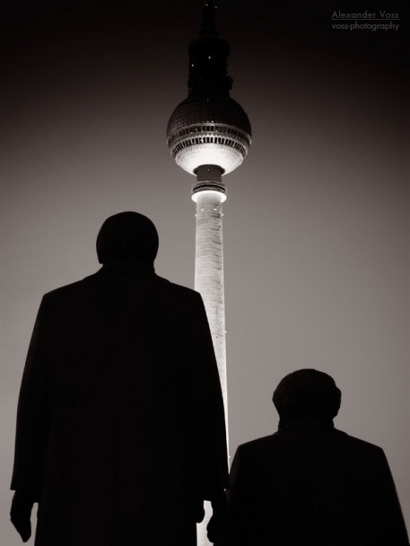 Berlin - Marx Engels Statue