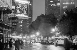 Boston bei Nacht – Union Oyster House