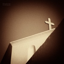 Kykladen, Griechenland – Eine Kirche auf Amorgos