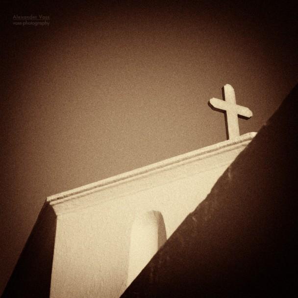 Kykladen, Griechenland - Eine Kirche in der Chora von Amorgos