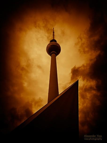 Berlin - Fernsehturm Alexanderplatz