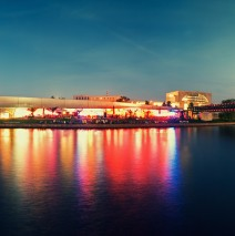 Berlin – Beach Bar at Spree River