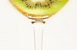 Creative Food Photography: Kiwi Frucht