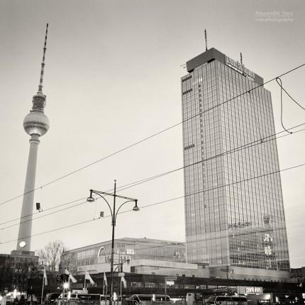 Analoge Fotografie: Berlin – Alexanderplatz