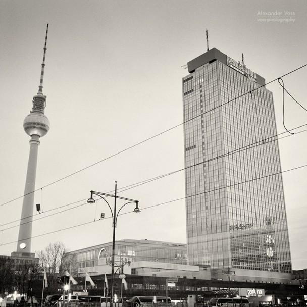 Analoge Fotografie: Berlin - Alexanderplatz