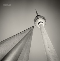 Analog Photography: Berlin – Television Tower