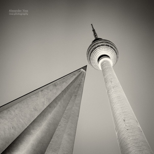 Analog Photography: Berlin - Television Tower