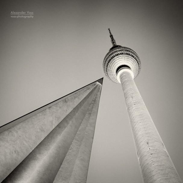 Analoge Fotografie: Berlin - Fernsehturm