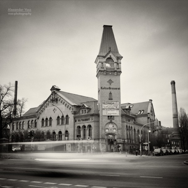 Analog Photography: Berlin - Kulturbrauerei