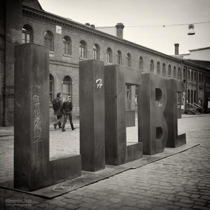 Analoge Fotografie: L.I.E.B.E. (Berlin – Kulturbrauerei)
