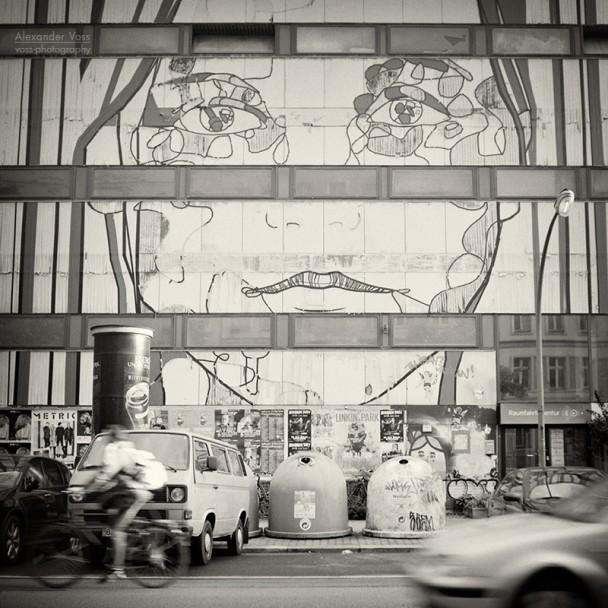 Analoge Fotografie: Berlin Street Art - El Bocho