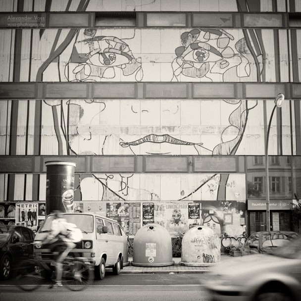 Analog Photography: Berlin Street Art - El Bocho