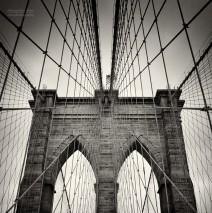 Analog Photography: New York City – Brooklyn Bridge