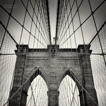 Analoge Fotografie: New York City – Brooklyn Bridge