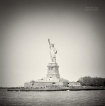 Analog Photography: New York City – Statue of Liberty