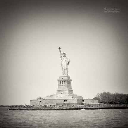 Analoge Fotografie: New York City – Freiheitsstatue / Liberty Island