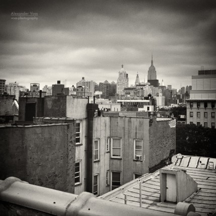 Analoge Fotografie: New York City Roofscape