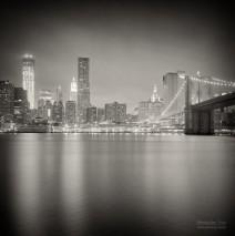 Analog Photography: New York City – Skyline at Night