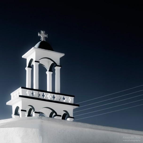 Andros, Griechenland - Eine Kykladen-Kirche