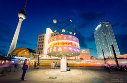Berlin – Alexanderplatz bei Nacht
