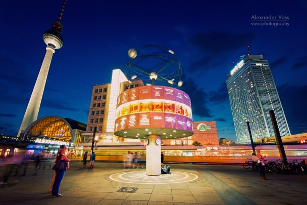 Berlin - Alexanderplatz at Night