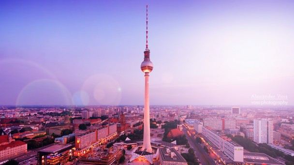 Berlin - Fernsehturm-Skyline